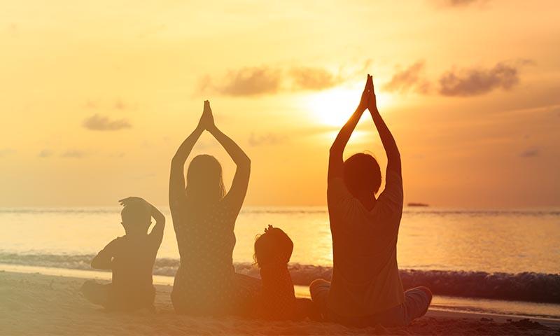 Yoga en familia: una disciplina para todos los miembros de la casa